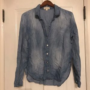CLOTH & STONE (Anthropologie) chambray shirt